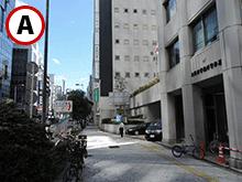 曽根崎警察署前