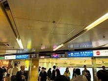 阪神梅田駅からホワイティ梅田